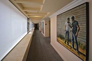 תערכות האמנות מאוספו של דובי שיף במלון לאונרדו ארט של רשת פתאל. צילום יחצ (1)