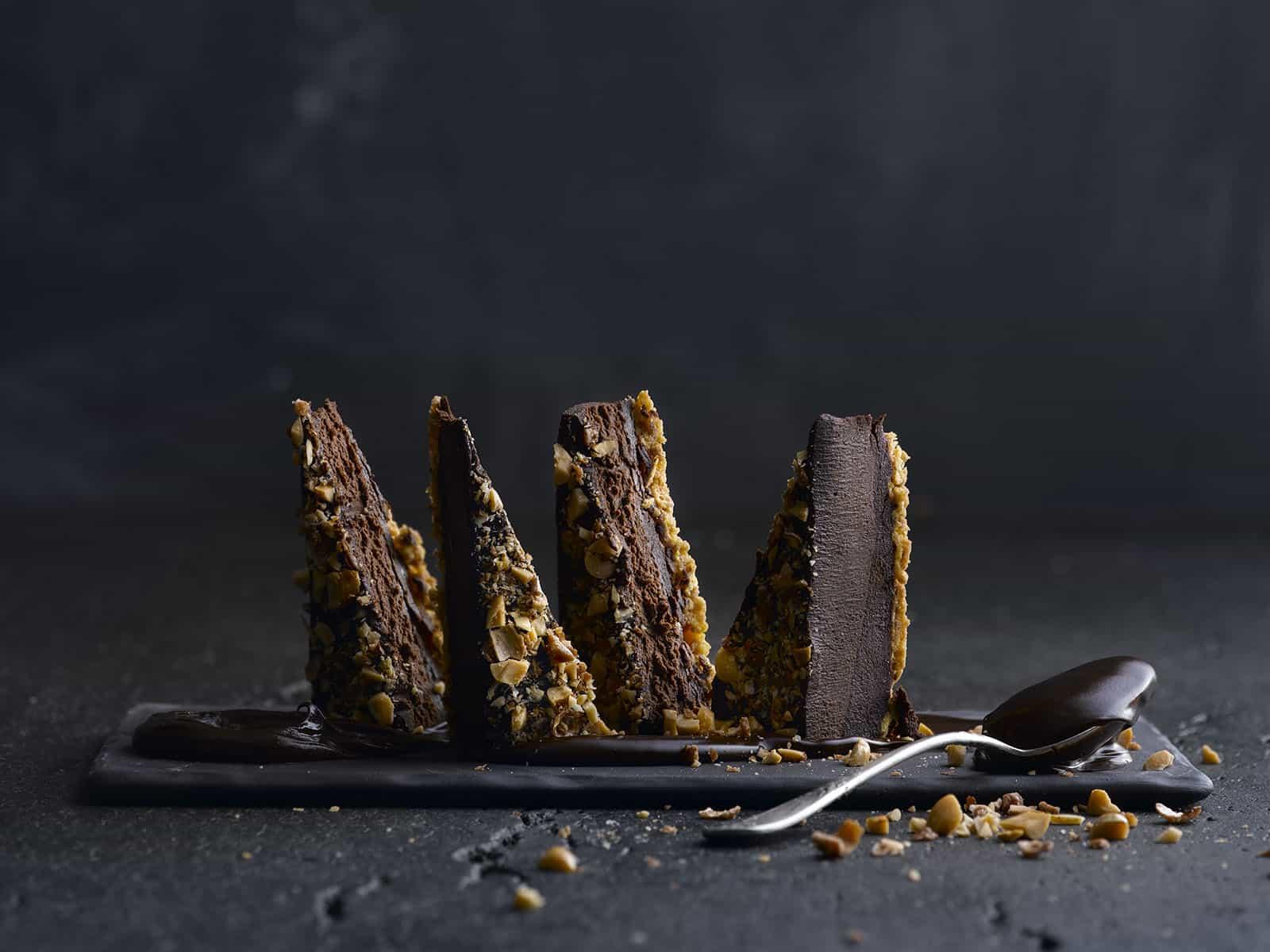 קפה גו פירמידת שוקולד טבעוני - 39 שח - קרדיט צילום רונן מנגן