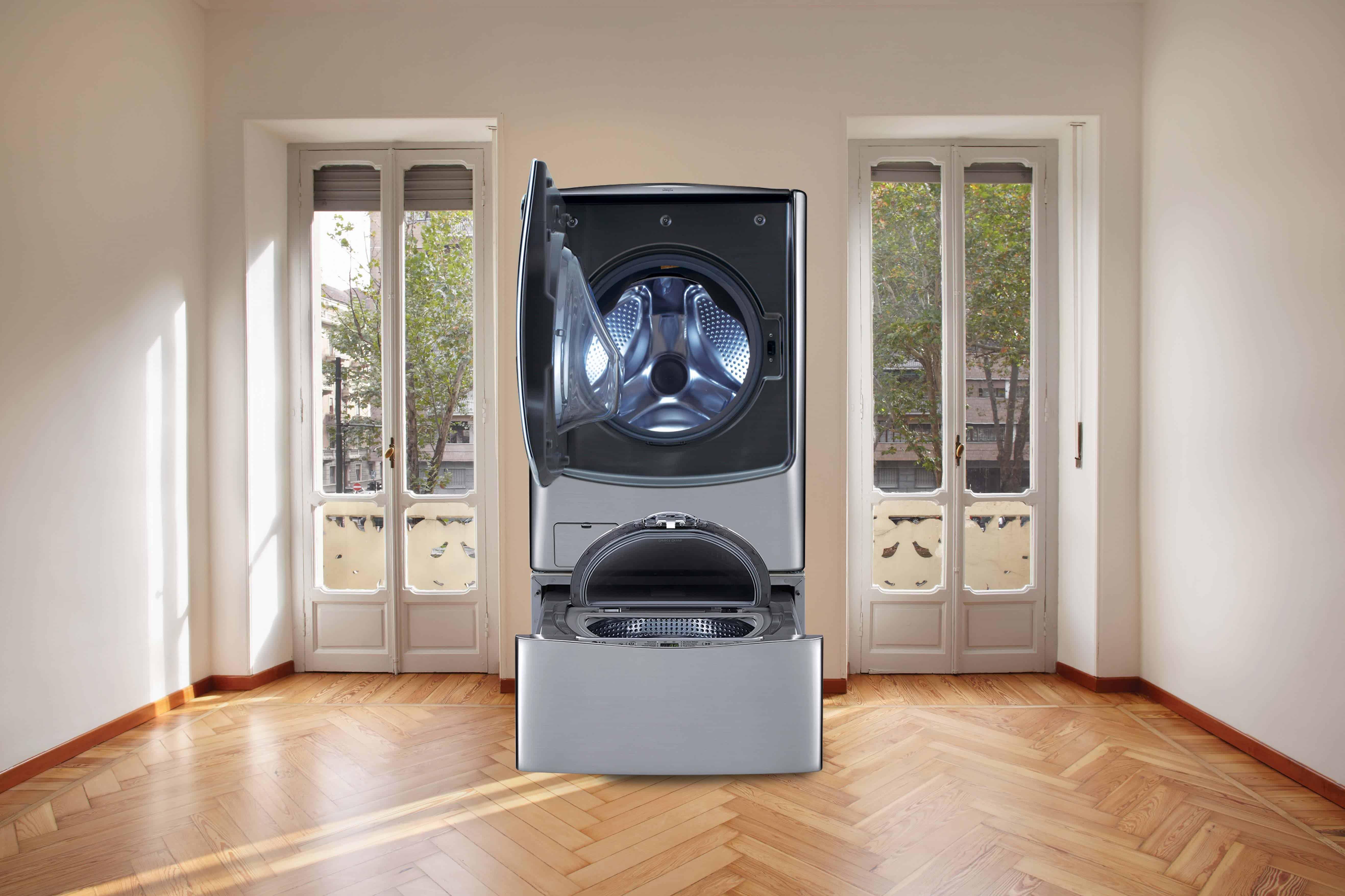 מכונת כביסה LG Twin wash צילום יחצ חול