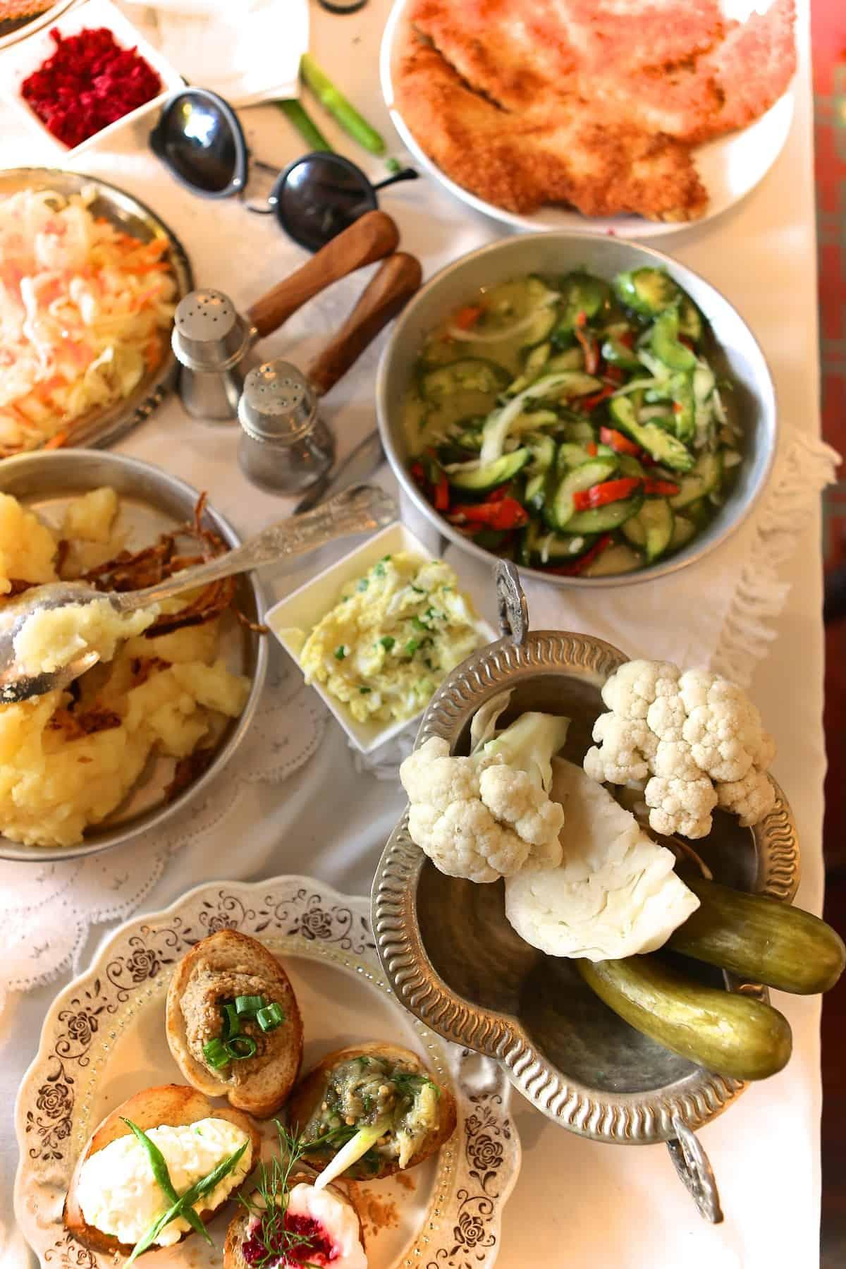 מנות של מסעדת קיטון- צילום רונית רומנו