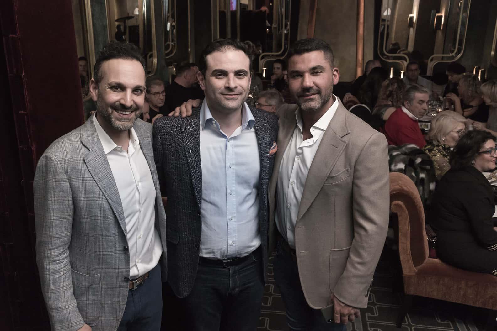 מימין ארין חושבין מחברת רבנס במרכז גבריאל חנני מנכל פרומדיקס ומר קאשה איגניאן מחברת רבנס width=